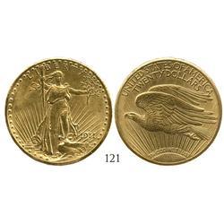 USA (Denver mint), $20 St. Gaudens, 1911-D.