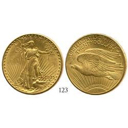USA (Philadelphia mint), $20 St. Gaudens, 1925.