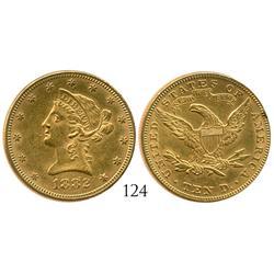 USA (Philadelphia mint), $10 Coronet, 1882.