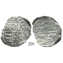 Potosi, Bolivia, cob 2 reales, (1)621T, Grade 2.