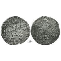 """Overijssel, United Netherlands, """"lion"""" daalder, 1617/6."""