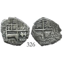 Potosi, Bolivia, cob 1 real, (1651-2)E.