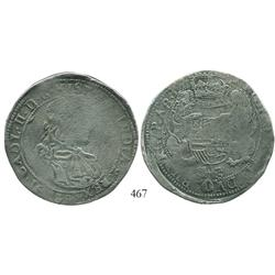Brabant, Spanish Netherlands (Antwerp mint), portrait ducatoon, Charles II, 1689, very rare.