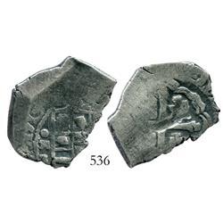 Mexico City, Mexico, cob 4 reales, 1713J, scarce.