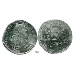 Brabant, Spanish Netherlands (Antwerp mint), portrait ducatoon, Philip IV, 1634.