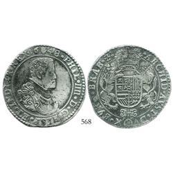Brabant, Spanish Netherlands (Antwerp mint), portrait ducatoon, Philip IV, 1648, choice.