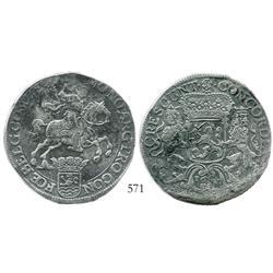 "Zeeland, United Netherlands, ""rider"" ducatoon, 1680."