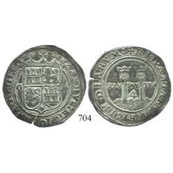 "Mexico City, Mexico, 4 reales, Charles-Joanna, ""Late Series,"" G to left, M to right, choice."