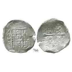 Mexico City, Mexico, cob 8 reales, (16)23D.