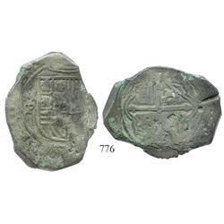 Mexico City, Mexico, cob 8 reales, (16)49/8P.