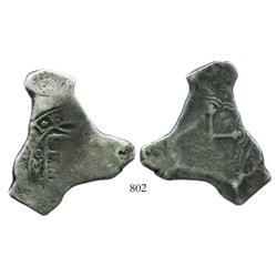 Mexico City, Mexico, cob 8 reales, 1701L, rare.
