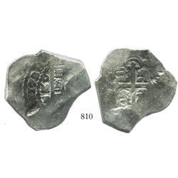 Mexico City, Mexico, cob 8 reales, 1726D.