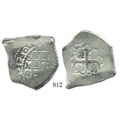 Mexico City, Mexico, cob 8 reales, 1730G/R.