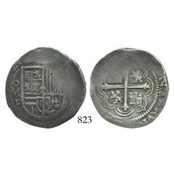 Mexico City, Mexico, cob 4 reales, (16)12F.