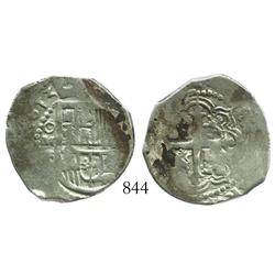 Mexico City, Mexico, cob 2 reales, 1613F.