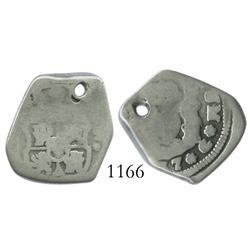 Guatemala, cob 2 reales, (17)37(J).