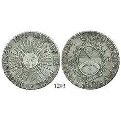 Argentina (Potosi mint), 8 reales, 1815F.
