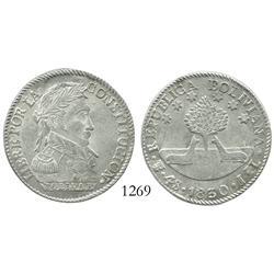 Potosi, Bolivia, 4 soles, 1830JL, choice grade.