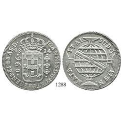 Brazil (Bahia mint), 960 reis, 1814-B.