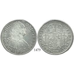 Mexico City, Mexico, bust 8 reales, Charles IV, 1795FM.