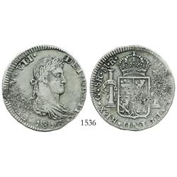 Guadalajara, Mexico (War of Independence), 8 reales, Ferdinand VII, 1813MR.
