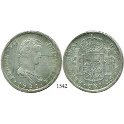 Guadalajara, Mexico (War of Independence), 8 reales, Ferdinand VII, 1821FS.