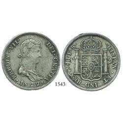 Guadalajara, Mexico (War of Independence), 8 reales, Ferdinand VII, 1822FS.