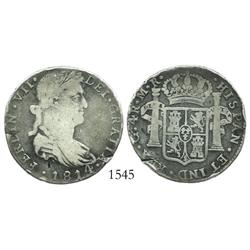 Guadalajara, Mexico (War of Independence), 4 reales, Ferdinand VII, 1814MR, large bust.