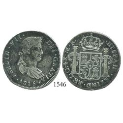 Guadalajara, Mexico (War of Independence), 4 reales, Ferdinand VII, 1815MR.