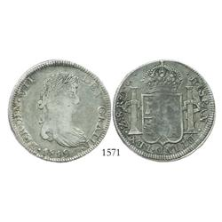 Zacatecas, Mexico (War of Independence), 8 reales, Ferdinand VII, 1819AG.