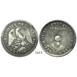 Guerrero, Mexico (Zapata), un peso, 1914-GRO.