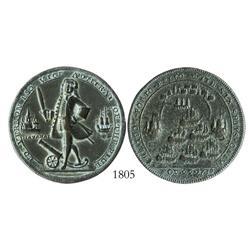 Great Britain, copper Admiral Vernon medal, Havana/Porto Bello (1741).