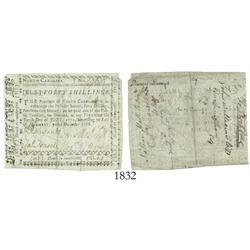 North Carolina, 40 shillings, 1768, PMG Choice Fine 15 Restoration.
