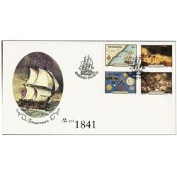 South Africa (Transkei), 1988 set of 4 stamps (16c, 30c, 40c and 50c, all depicting scenes of and ar