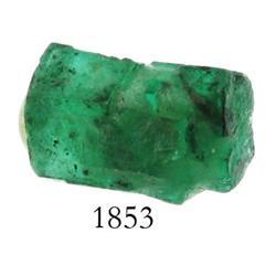 Natural emerald, 2.75 carats.