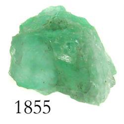 Natural emerald, 1.75 carats.