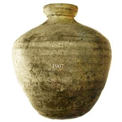 Earthenware olive jar (spherical).