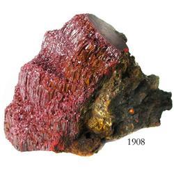 Cinnabar mineral.