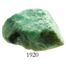 Very large natural emerald, 30.7 carats.