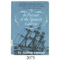 DeWitt, James. In Pursuit of the Spanish Galleon (1966).