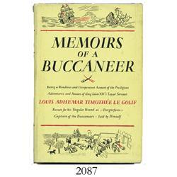 """Le Golif, Louis Adhémar Timothée """"Borgnefesse"""". Memoirs of a Buccaneer (1954)."""