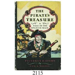 Wilson, Edward A. The Pirate's Treasure, or The Strange Adventures of Jack Adams on the Spanish Main