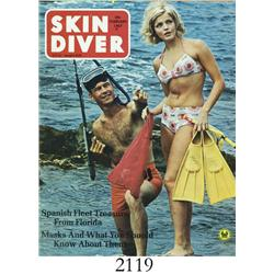 "Skin Diver (February, 1967), with article ""Million $panish Treasure."""