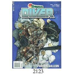 "Treasure Diver magazine, Vol. 4 No. 4 (July, 1993), with article ""Jupiter's Golden Galleon,"" by John"