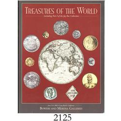 Bowers & Merena Galleries (Long Beach, CA). Treasures of the World (June 5-6, 2002).