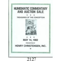 Christensen, Henry (Madison, NJ). Treasures of the Conception (May 14, 1982).