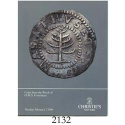 Christie's (New York). Coins from the Wreck of H.M.S. Feversham (February 7, 1989).