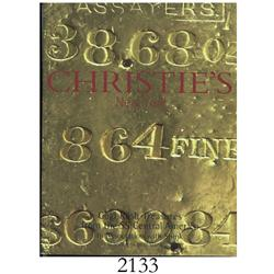 Christie's (New York) in association with Spink. Gold Rush Treasures from the SS Central America (De
