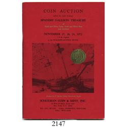Schulman Coin & Mint (New York). Spanish Galleon Treasure (November 27-29, 1972), with prices realiz