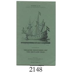 Sotheby & Co. (London). Catalogue of Treasure Recovered off the Shetland Isles (November 8, 1973).